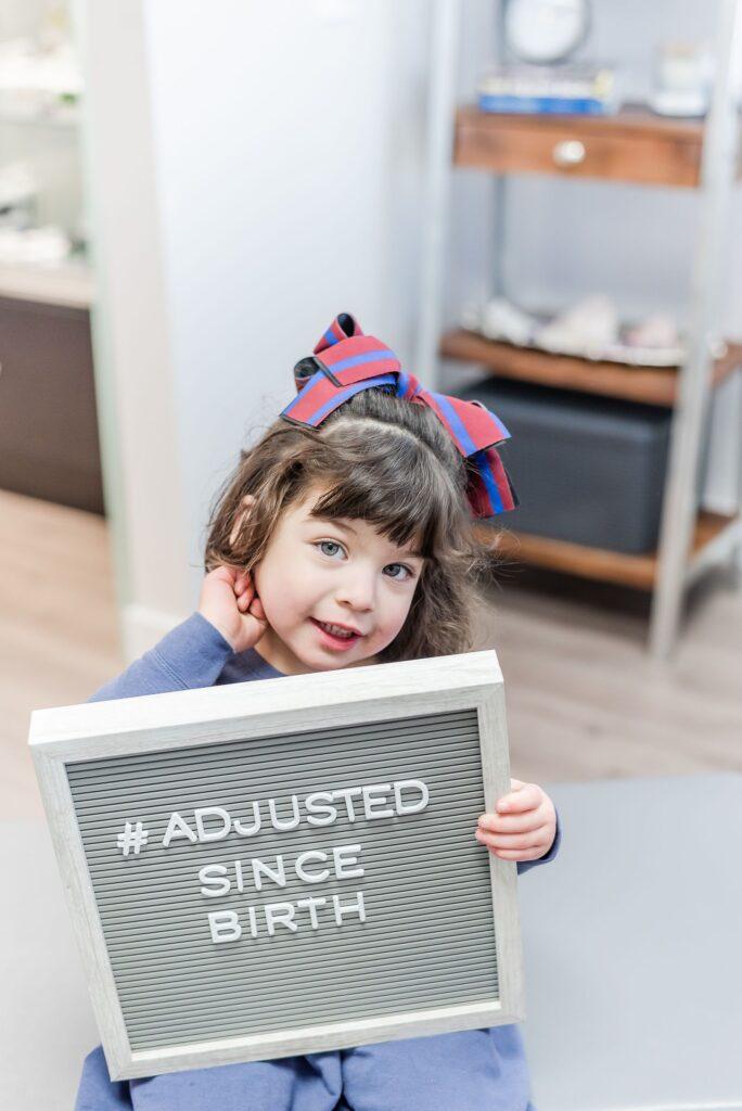 adjusted since birth